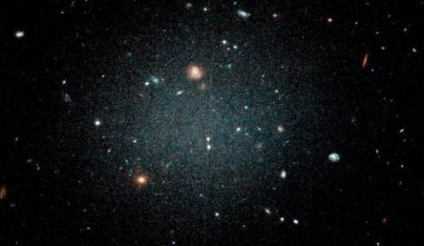 Ghostly Galaxy NGC 1052-DF2