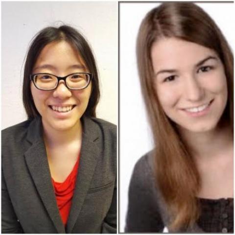 Left: Saki Kamon, Right: Nora Martin