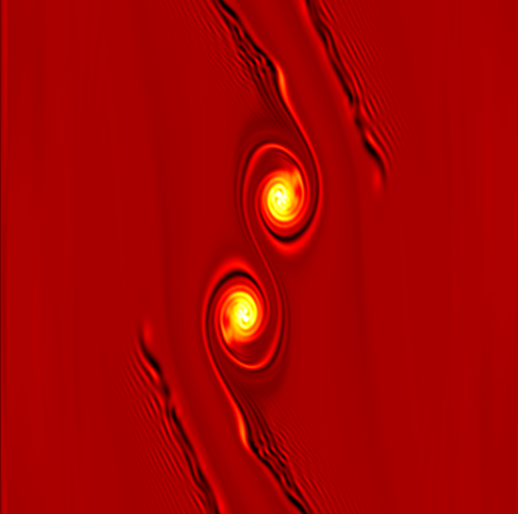 Screenshot of animation by Seligman and Laughlin